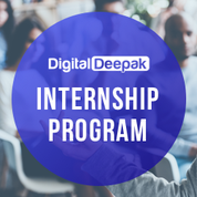 digital deepak internship program on digital marketing